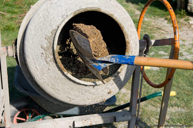 Как приготовить бетон с гравием шурупы в бетон